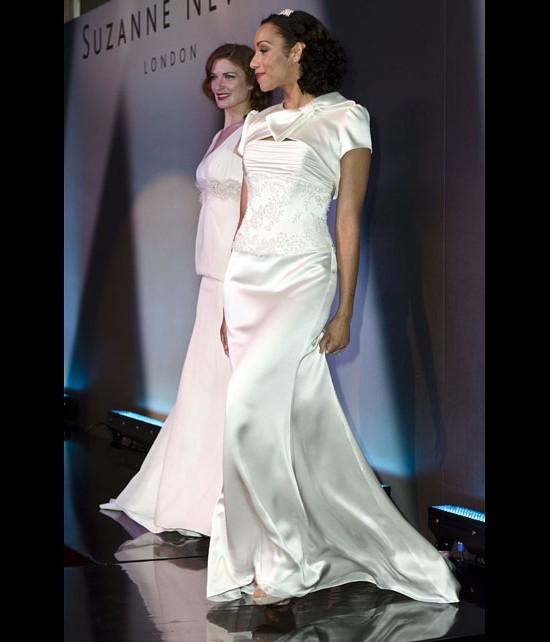 Catwalk Runways | Nostalgia 2012 Designer Bridal Gowns | Byzantium by Suzanne Neville