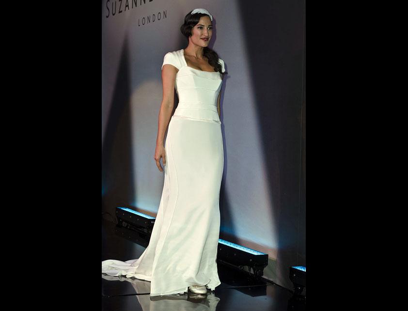 Catwalk Runways | Nostalgia 2012 Designer Bridal Gowns | Deitrich by Suzanne Neville