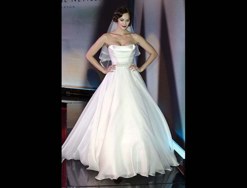 Catwalk Runways | Nostalgia 2012 Designer Bridal Gowns | Gracie by Suzanne Neville