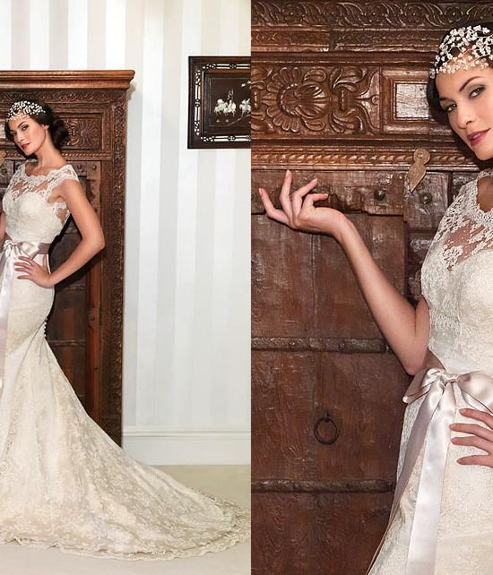 Nostalgia Collection 2012 by Suzanne Neville - Designer Bridal Gown - Hepburn