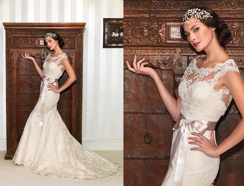 Nostalgia Collection 2012 by Suzanne Neville - Designer Bridal Gown - Hepburn