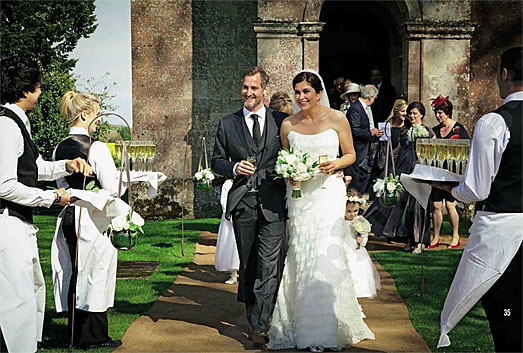 Amanda Lamb Wedding To Cameraman Sean Mcguiness