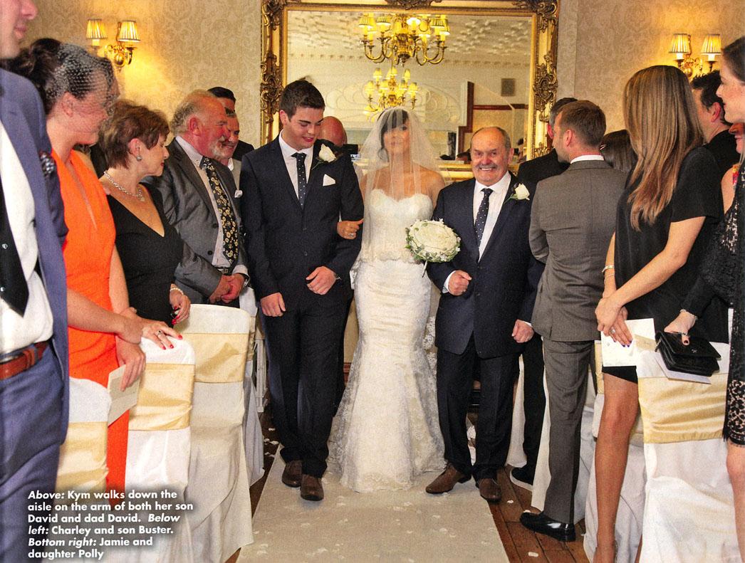 Ok Magazine Holly Dan Willoughby Celebrates Wedding Declan Gallery Of Kym Marsh Coronation