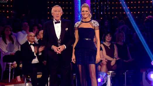 Tess daly wears Suzanne Neville for Strictly Come Dancing Final 2012