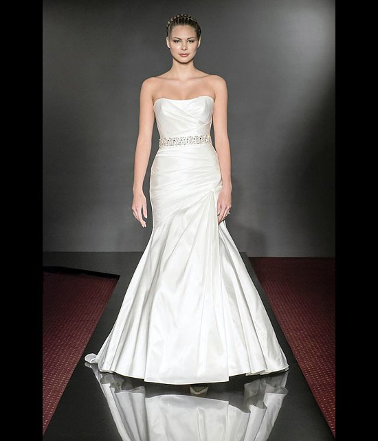 designer wedding dresses - amazing - diamond collection 2013 - catwalk by Suzanne Neville