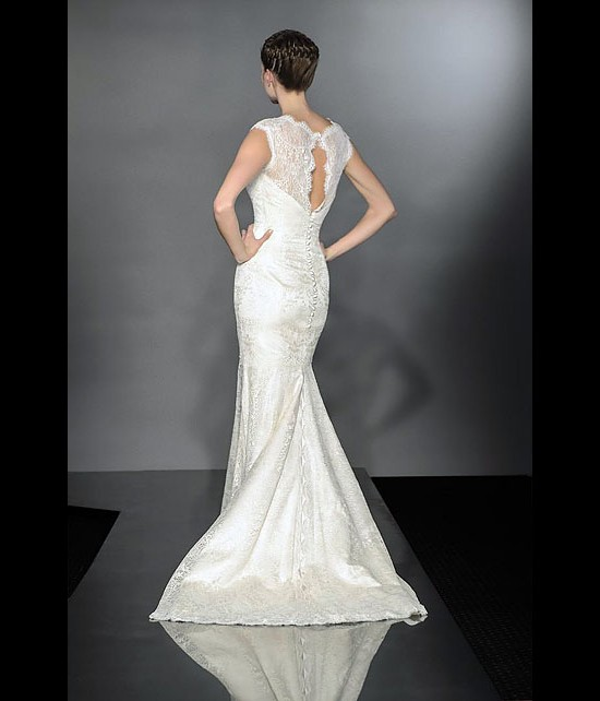 designer wedding dresses - baroque - diamond collection 2013 - catwalk by Suzanne Neville
