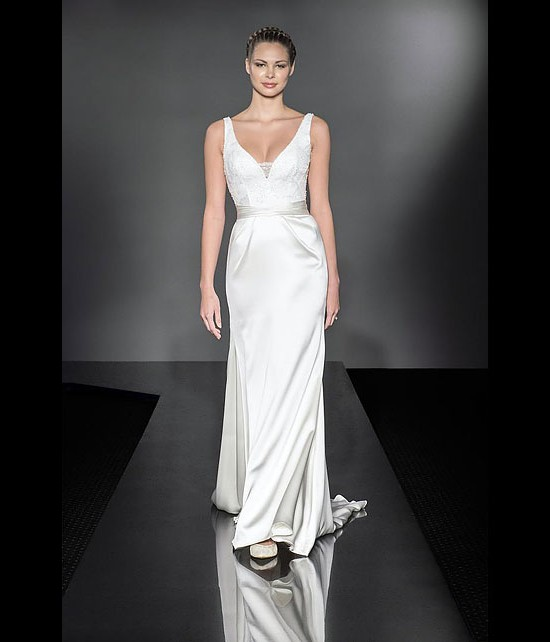 designer wedding dresses - delight - diamond collection 2013 - catwalk by Suzanne Neville