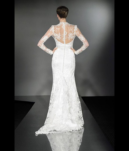 designer wedding dresses - elegance - diamond collection 2013 - catwalk by Suzanne Neville