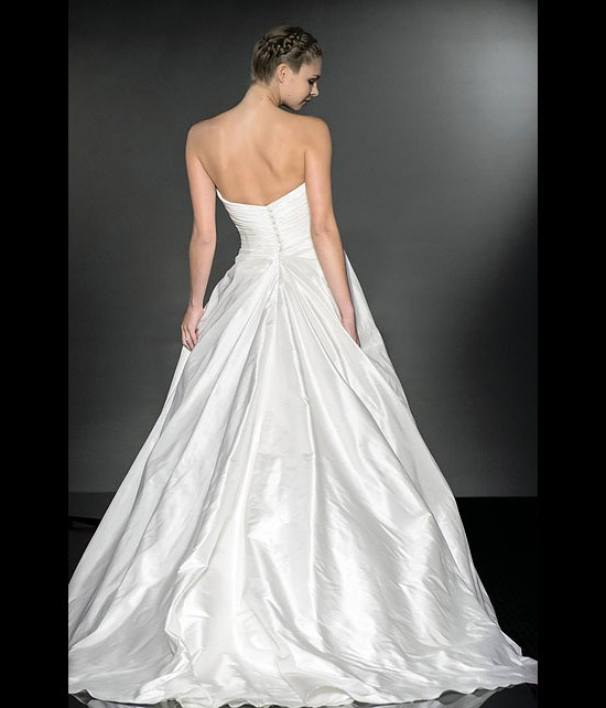 designer wedding dresses - hope - diamond collection 2013 - catwalk by Suzanne Neville