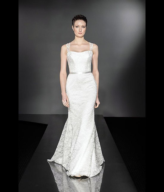 designer wedding dresses - majesty - diamond collection 2013 - catwalk by Suzanne Neville