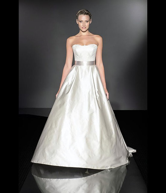 designer wedding dresses - opulence - diamond collection 2013 - catwalk by Suzanne Neville
