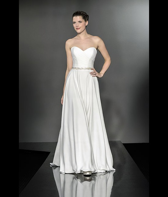 designer wedding dresses - palazzo - diamond collection 2013 - catwalk by Suzanne Neville