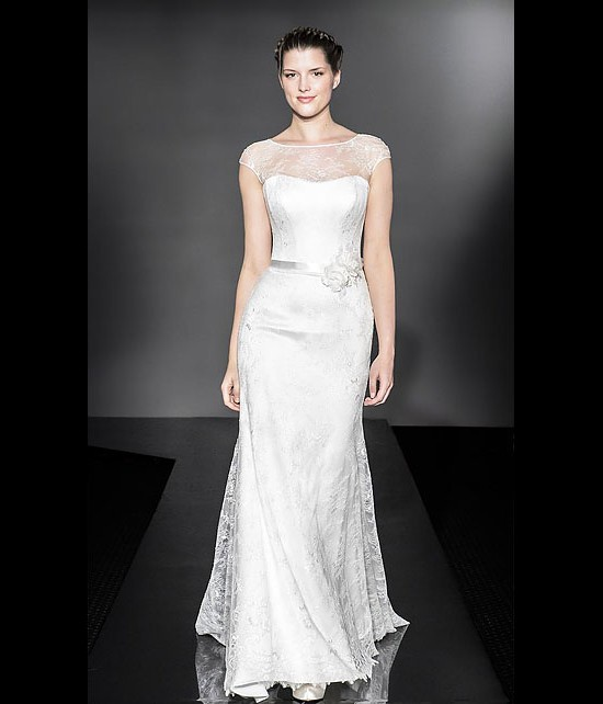 designer wedding dresses - rococco - diamond collection 2013 - catwalk by Suzanne Neville