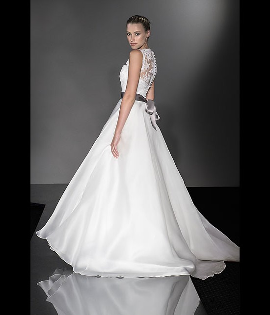 designer wedding dresses - stunning - diamond collection 2013 - catwalk by Suzanne Neville