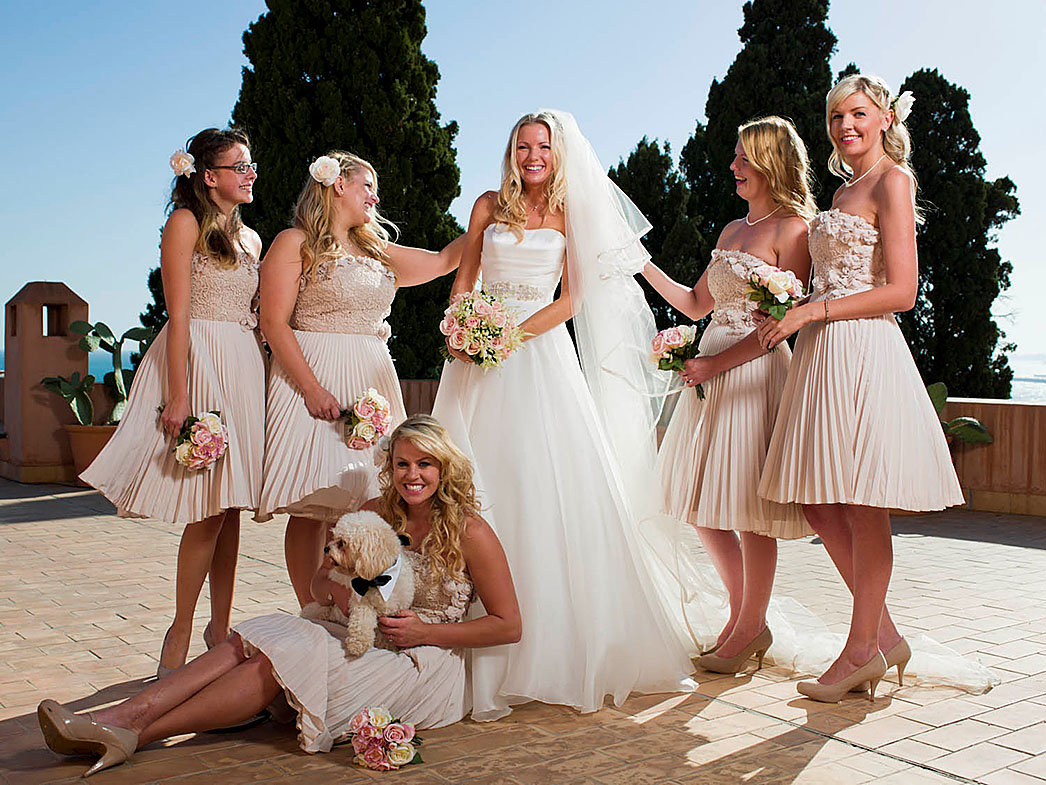Rick parfitt wedding to rachael gracie designer wedding dresses by suzanne neville hello magazine 11 november 2013 ombrellifo Image collections