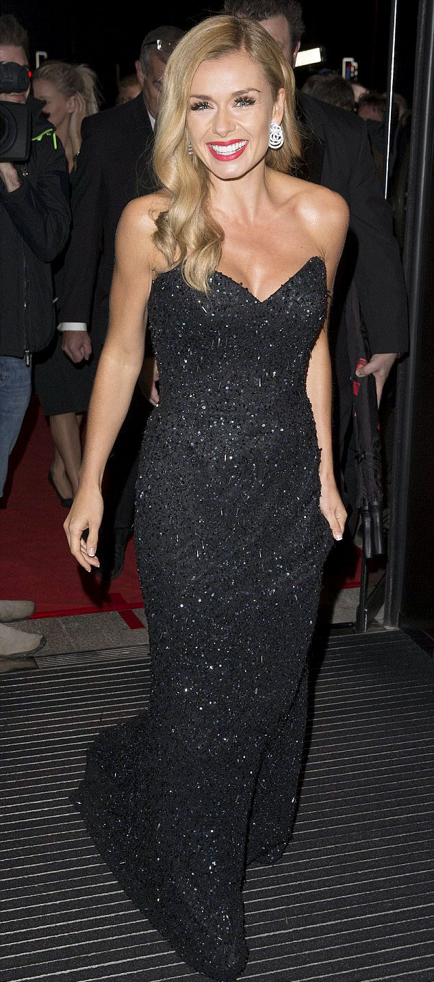Katherine Jenkins In Black Glistening Gown At This Year S