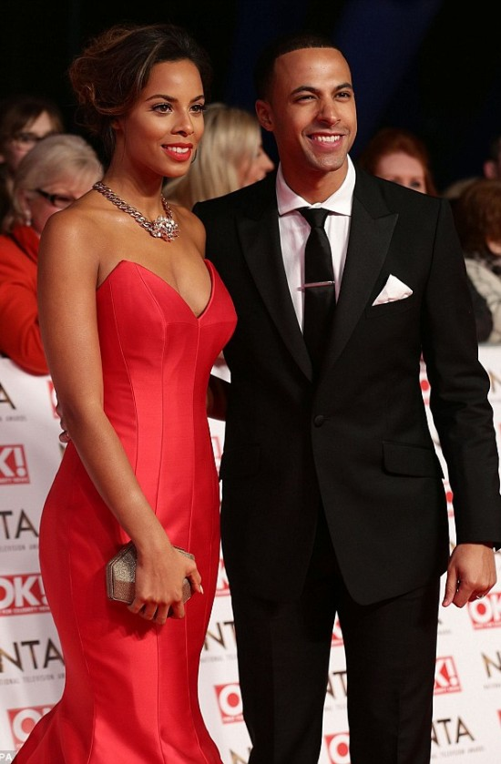 Rochelle Humes in Bridal Designer