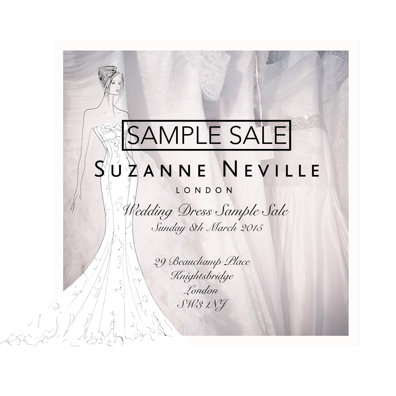 Sample Sale Wedding Dresses