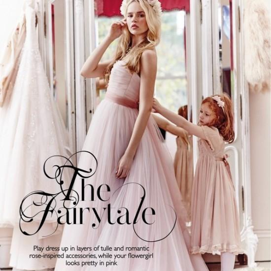 Wedding Magazine April 2015. Dress by designer suzanne neville