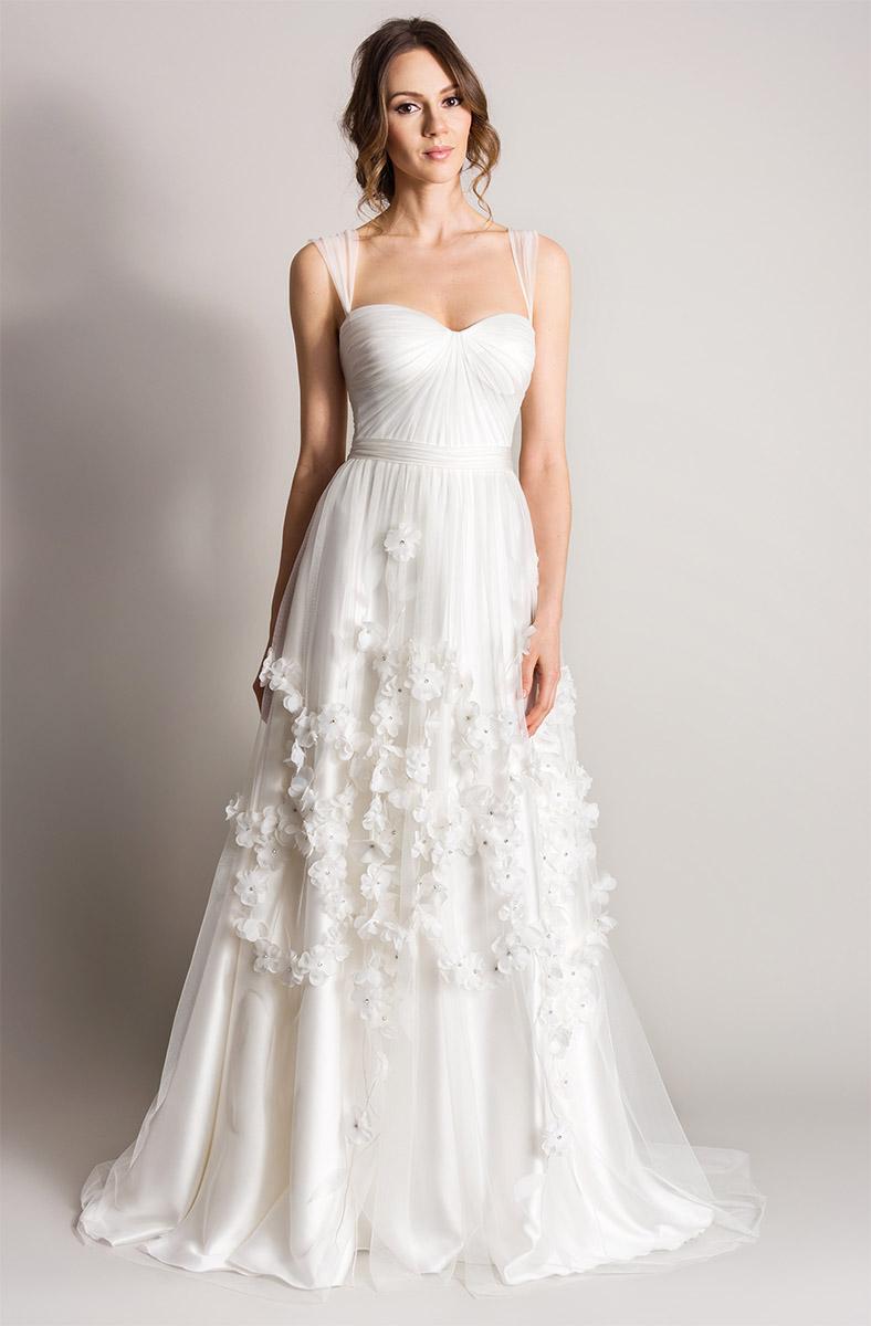 Bloom |Songbird Lookbook 2016 designer wedding dresses
