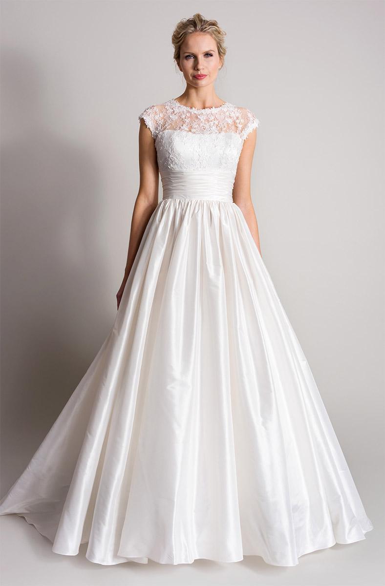 Ivy | Songbird Lookbook 2016 designer wedding dresses