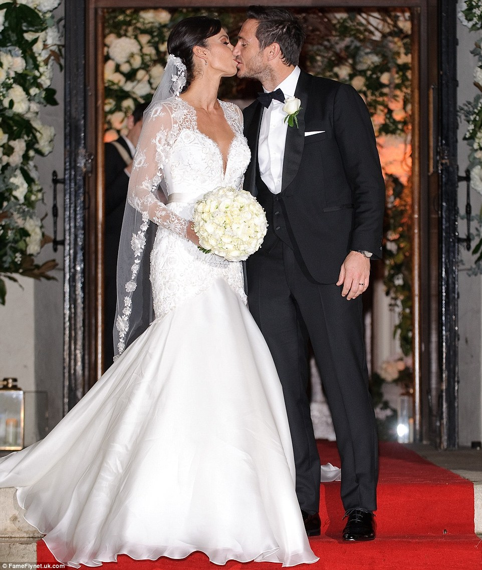 Celebrity Wedding Vows Examples: Frank Lampard And Christine Bleakley Wedding Ceremony