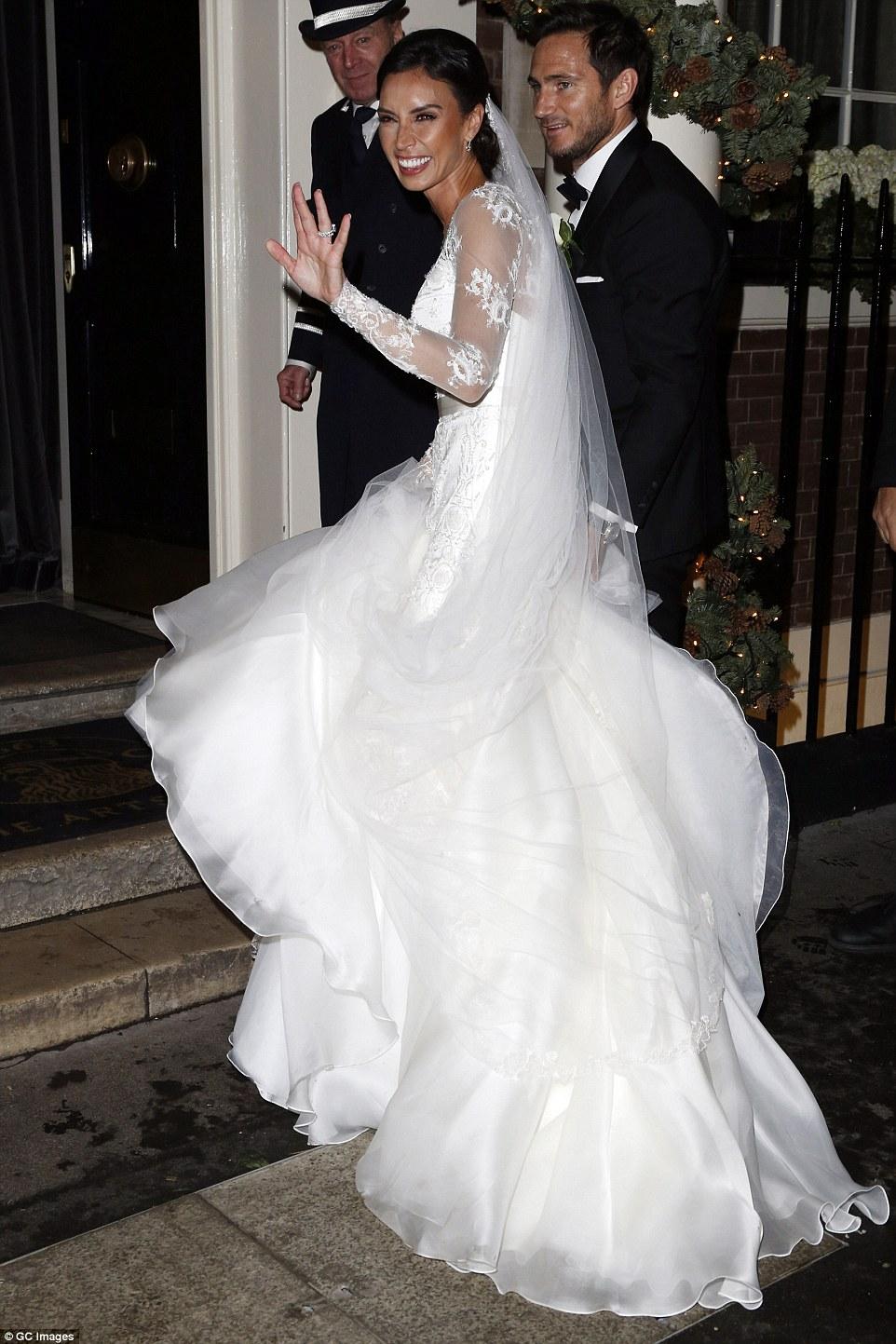 Frank Lampard and Christine Bleakley Wedding Ceremony