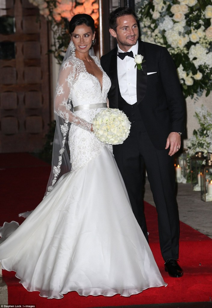 Frank Lampard and Christine Bleakley Wedding Ceremony