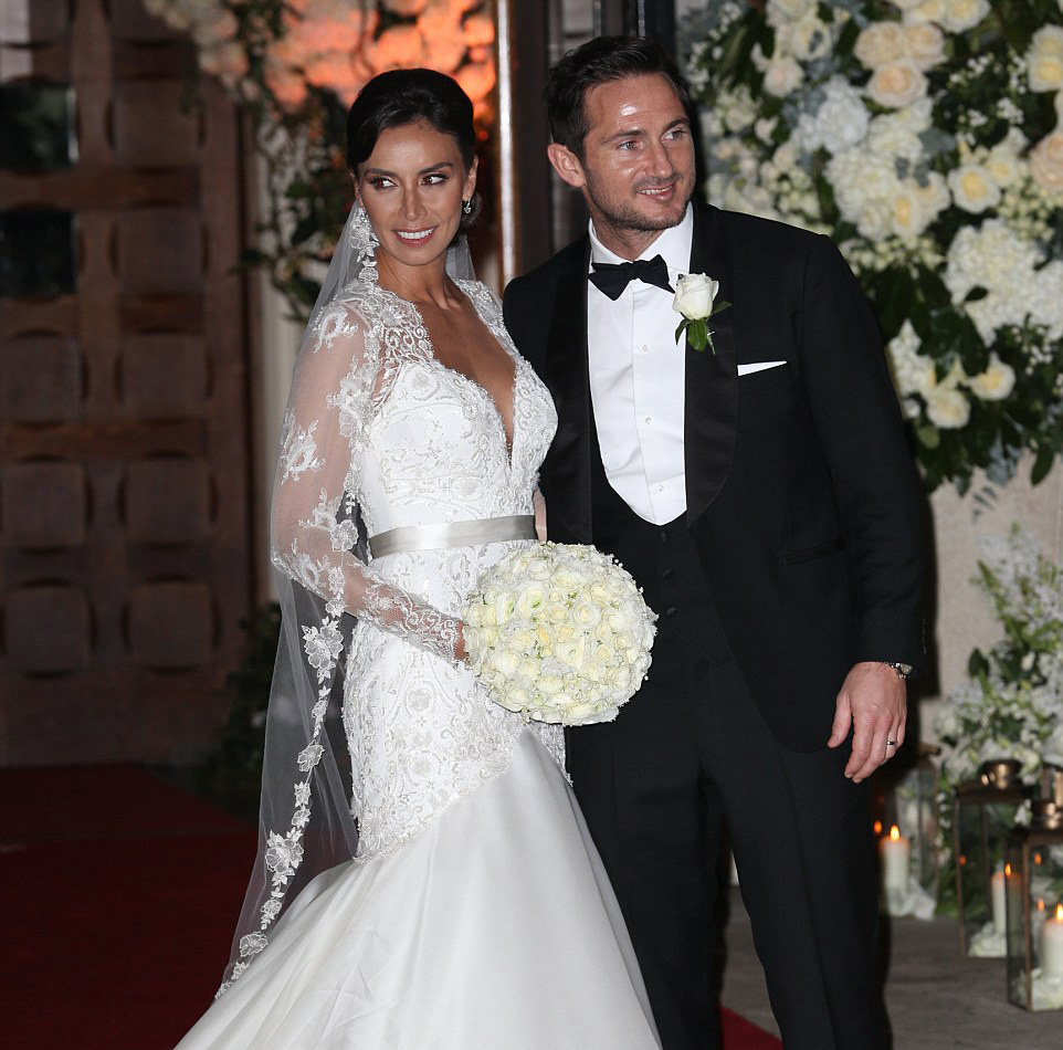 Frank Lampard And Christine Bleakley Celebrate Their
