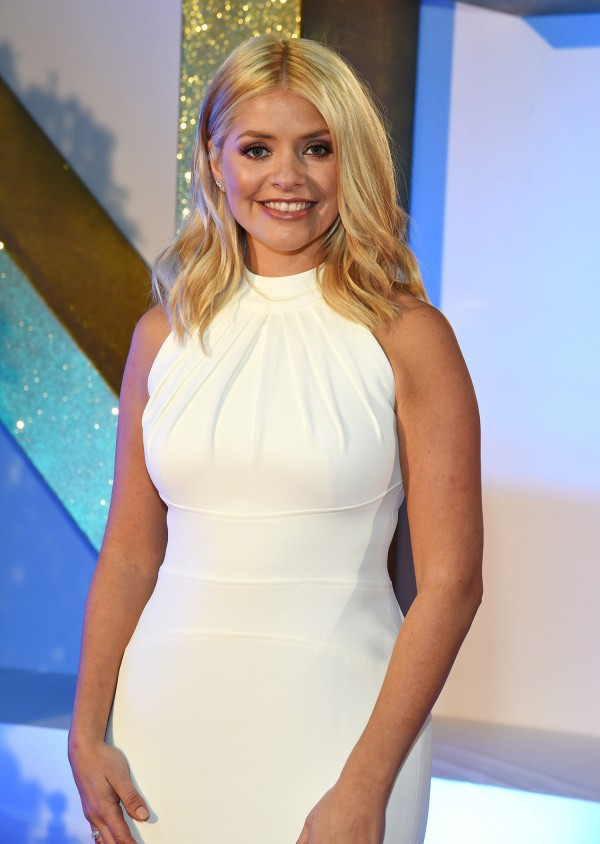 Holly Willoughby Clothes White Dress On This Morning