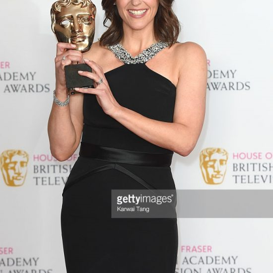 Suranne Jones wearing Suzanne neville at tv bafats 2016 4