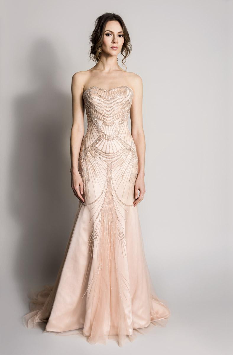 Blush Wedding Dress Tustin : Blush songbird lookbook suzanne neville