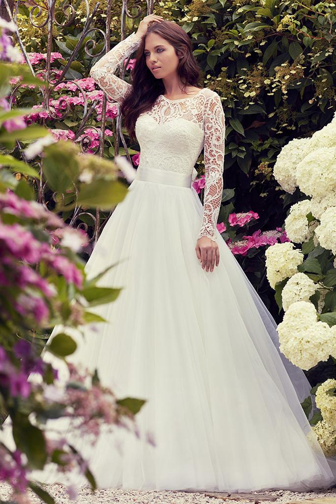 Silk Wedding Dresses by couture bridal designer Suzanne Neville