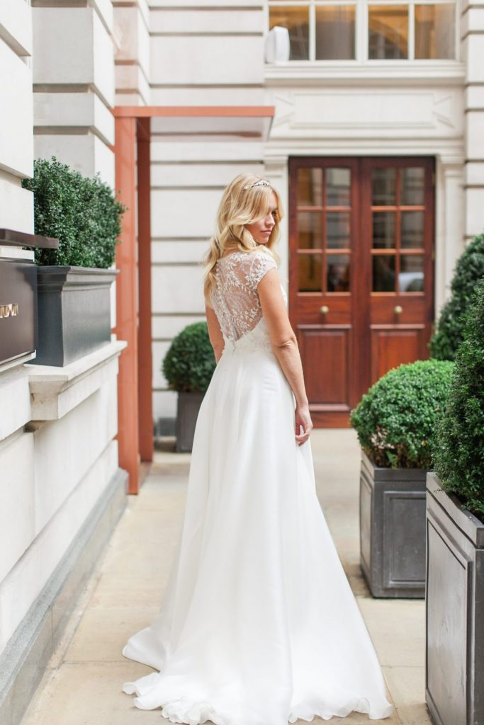 Brides Magazine Reader Event Rosewood London designer wedding dresses by Suzanne Neville