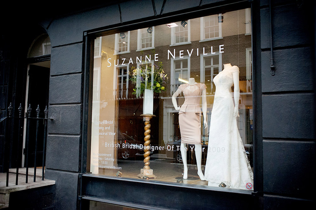 wedding dress shops london