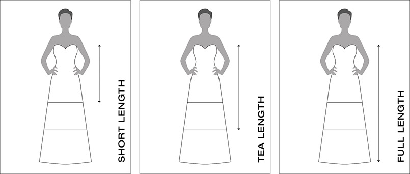Wedding Dress Styles   Length