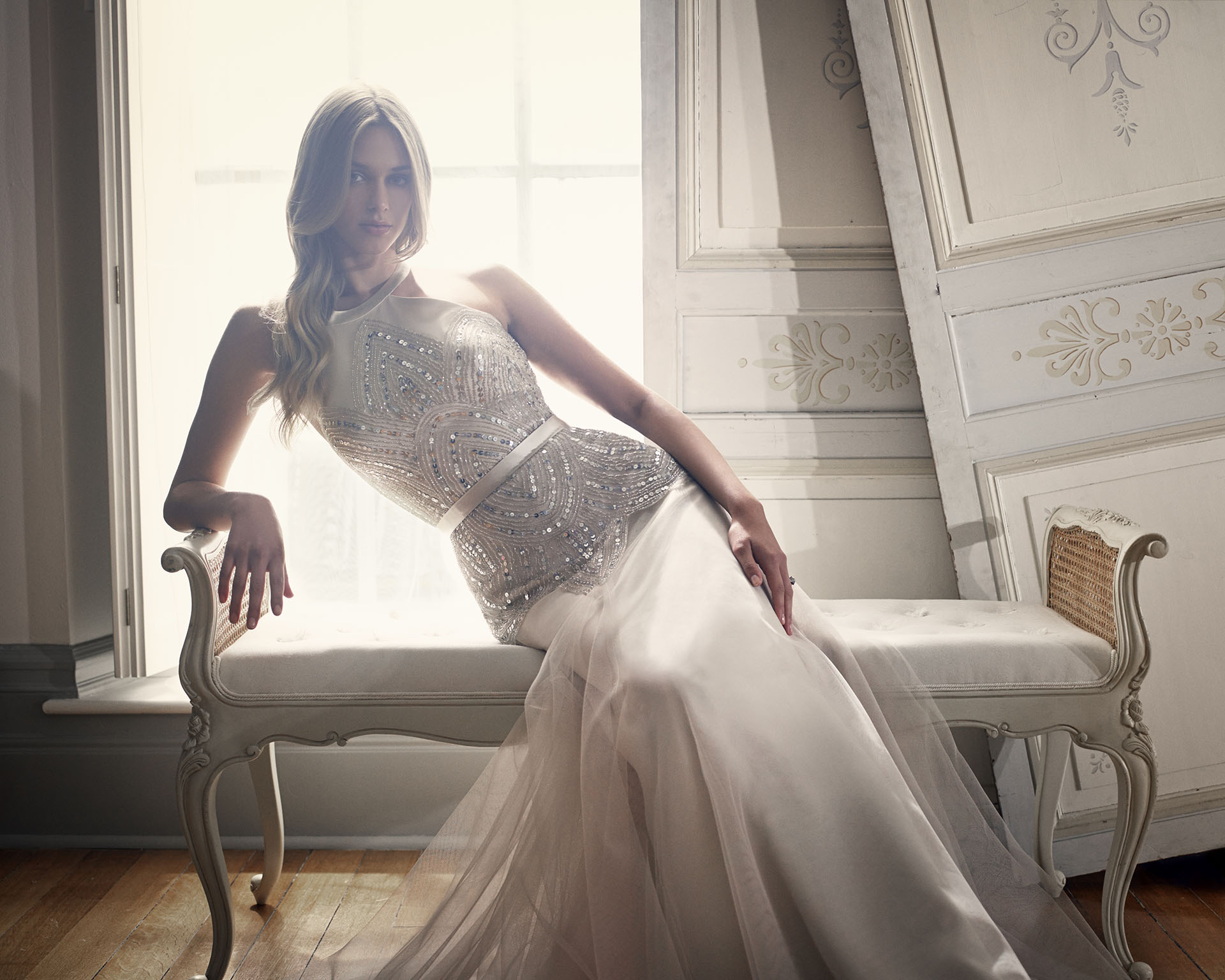 Coloured Wedding Dresses | Suzanne NEville