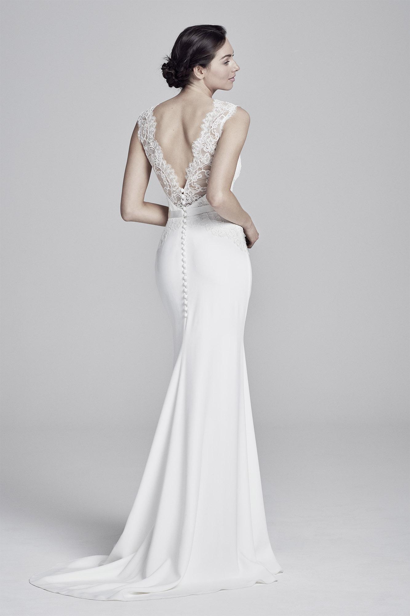 Antionetta (back) | Lookbook Collection 2019 | designer wedding dresses by Suzanne Neville
