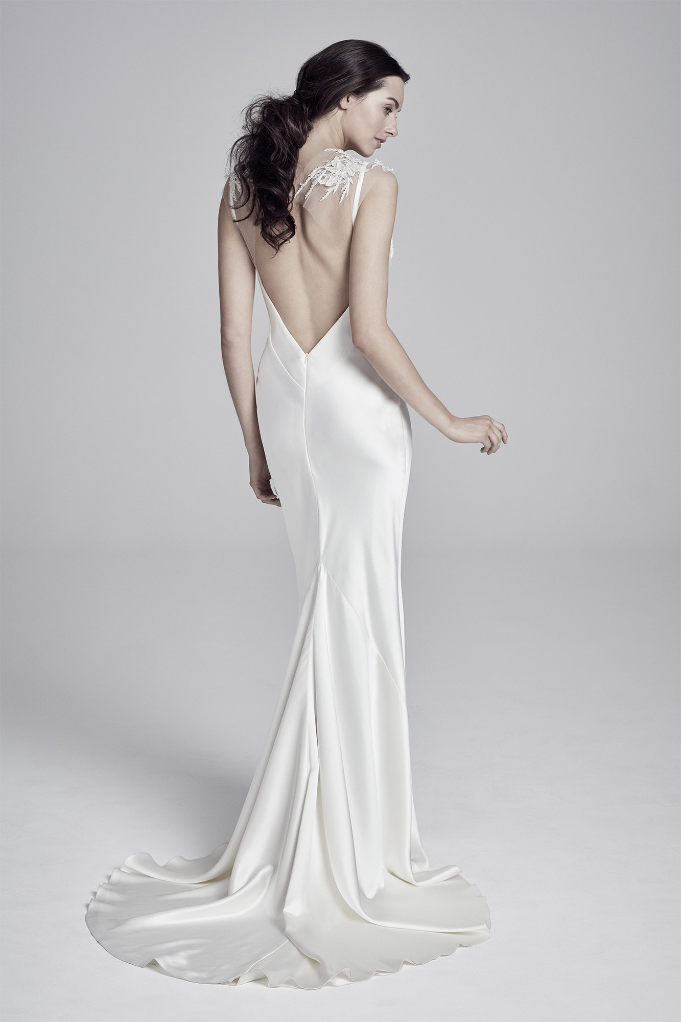 Christie (back) | Lookbook Collection 2019 | designer wedding dresses by Suzanne Neville