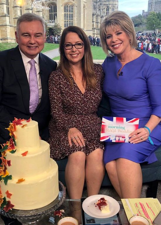 Royal Wedding - This Morning - Suzanne NEville with