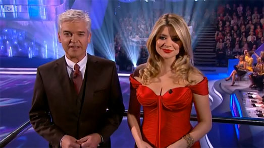 Holly Willoughby Dress | Dancing on Ice 2011