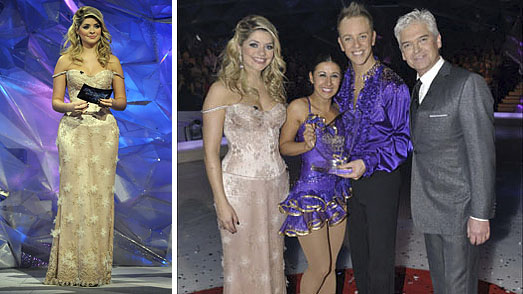 Holly Willoughby Dancing on Ice Dresses