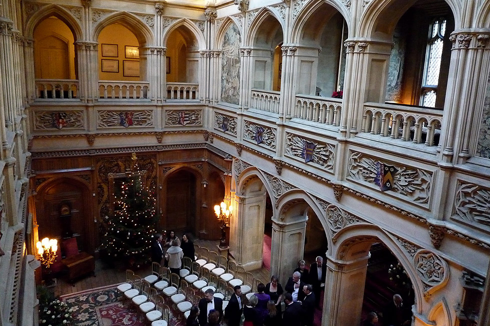 Winter Wedding at Highclere Castle