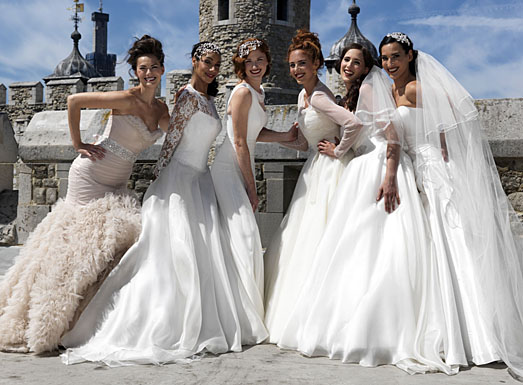 Designer Bridal Gowns at Tower of London 2011 by Suzanne Neville
