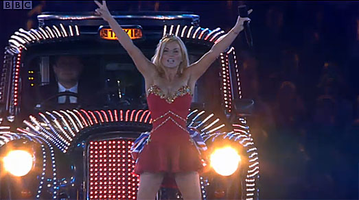 Spice Girls - Geri Halliwell - London Olympics 2012