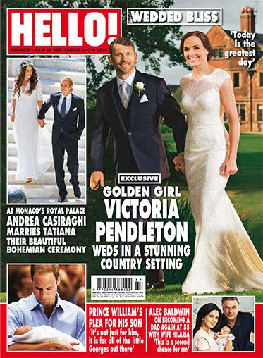 HELLO! magazine - 16 September 2013