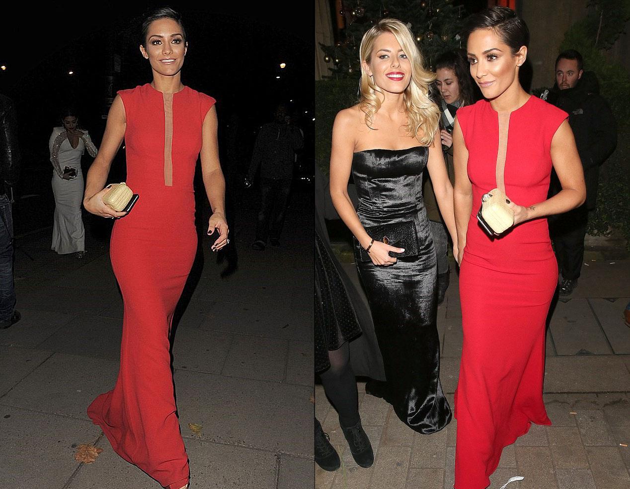 frankiesandford-thesaturdays-reddress-cosmopolitansawards2014-designerSuzanneNeville1