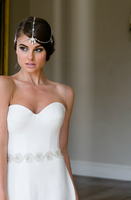 Rock my wedding bridal blog. 2015 novello collection dominon by suzanne neville
