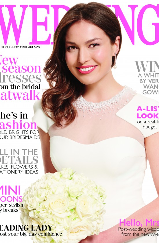 Wedding Cover, Memoire, october:november 2014 by suzanne neville bridal designer