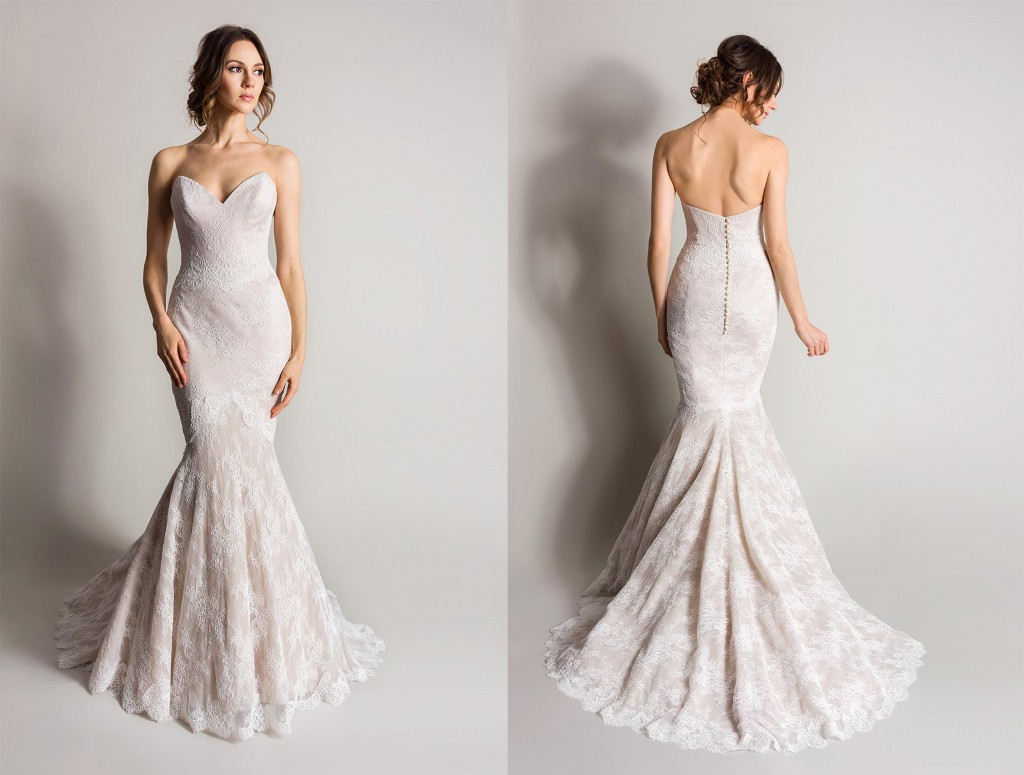 Juniper Champagne Wedding Dresses